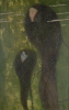 Gustav Klimt, Pesci d'argento (Ninfe, sirene) | Silberfische (Nixen, Sirenen)