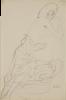 Gustav Klimt, Ragazza sdraiata   Reclining girl [1912-1914]