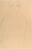 Gustav Klimt, Ritratto a mezzo busto di una donna di fronte (Studio per il ritratto 'Johanna Staude')