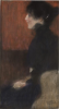 Gustav Klimt, Ritratto di signora   Portrait of a lady [1897 circa]