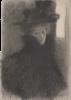 Gustav Klimt, Ritratto di una signora con mantello e cappello | Bildnis einer Dame mit Cape und Hut