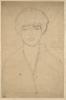 Gustav Klimt, Ritratto femminile a mezzo busto di fronte | Weibliches Brustbild von vorne