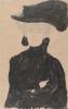 Gustav Klimt, Signora con cappello di piume   Dame mit Federhut