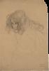 "Gustav Klimt, Studio per 'Impudicizia' nel 'Fregio di Beethoven'   Studie für ""Unkeuschheit"" im ""Beethovenfries""   Studio for ""Unchastity"" in the ""Beethoven frieze"""