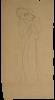 """Gustav Klimt, Studio per 'Pietà' nel 'Fregio di Beethoven'   Studie für """"Mitleid"""" im """"Beethovenfries"""""""