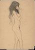 Gustav Klimt, Studio per la figura a sinistra delle 'Tre Gorgoni' nel 'Fregio di Beethoven'