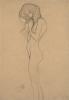 Gustav Klimt, Studio per la figura di sinistra delle 'Tre Gorgoni' nel 'Fregio di Beethoven'