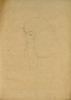 Gustav Klimt, Testa di ragazza con lunghi capelli di mezzo profilo   Mädchenkopf mit langen Haaren im Halbprofil