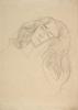 Gustav Klimt, Volto di donna con le mani sulla guancia (studio per Giurisprudenza)