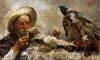 Antonio Mancini, L'indovino | The fortune teller
