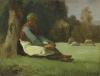 Millet, Pastorella seduta [1848].jpg