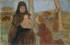 Modersohn-Becker, Adorazione, gruppo di figure con contadina seduta e bambino.jpg