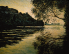 Monet, Effetto di tramonto, Port Villez | Effet de soleil couchant, Port-Villez | Effect of the sun setting, the Seine at Port-Villez