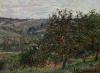 Monet, Meli nei pressi di Vétheuil | Pommiers près de Vétheuil | Apple trees near Vétheuil
