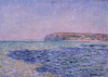 Monet, Ombre sul mare. La scogliera a Pourville | Shadows on the sea. The cliffs at Pourville