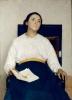 Giuseppe Pellizza da Volpedo, Ricordo di un dolore (Ritratto di Santina Negri)   Memento of a pain (Portrait of Santina Negri)