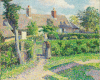 Pissarro Camille, Case di contadini, Eragny.png