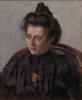 Pissarro Camille, Ritratto di Jeanne, figlia dell'artista.jpg