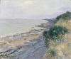 Sisley, La scogliera a Penarth, sera, bassa, marea.jpg