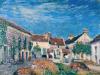 Sisley, Un cortile a Les Sablons.png