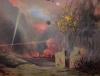Vallotton, 1914, paesaggio di rovine e d'incendi.png