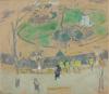 Edouard Vuillard, La Place Vintimille, Square Berlioz