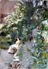 Zorn, Nel parco dell'Alhambra   Dans le parc de l'Alhambra   In the Alhambra park