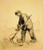 van Gogh, Uomo con la falce   Homme avec une faux   Man with a scynthe
