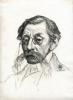Théo van Rysselberghe, Ritratto di Emile Verhaeren | Portrait d'Emile Verhaeren [1906]