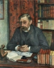 Théo van Rysselberghe, Ritratto di Emile Verhaeren, poeta belga [1855-1916] | Portrait d'Emile Verhaeren, poète belge [1855-1916]