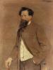 Théo van Rysselberghe, Ritratto di Félix Mommen | Portrait de Félix Mommen
