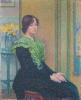 Théo van Rysselberghe, Ritratto di Marthe Massin | Portrait de Marthe Massin